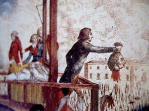 Georges Danton, promotor de la Revolución, ministro de justicia y partidario de la ejecución del rey Luis XVI, fue guillotinado durante el Terror.