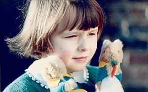 Foto de Olivia Dahl antes de su enfermedad y muerte
