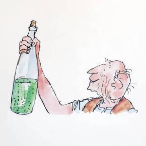 El gigante bonachón (The BFG) ilustrado por Quentin Blake
