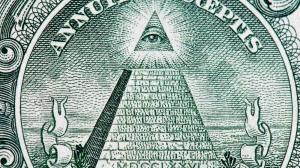 Supuesto símbolo de los illuminati, o de los masones, en los billetes actuales de dólar estadounidenses