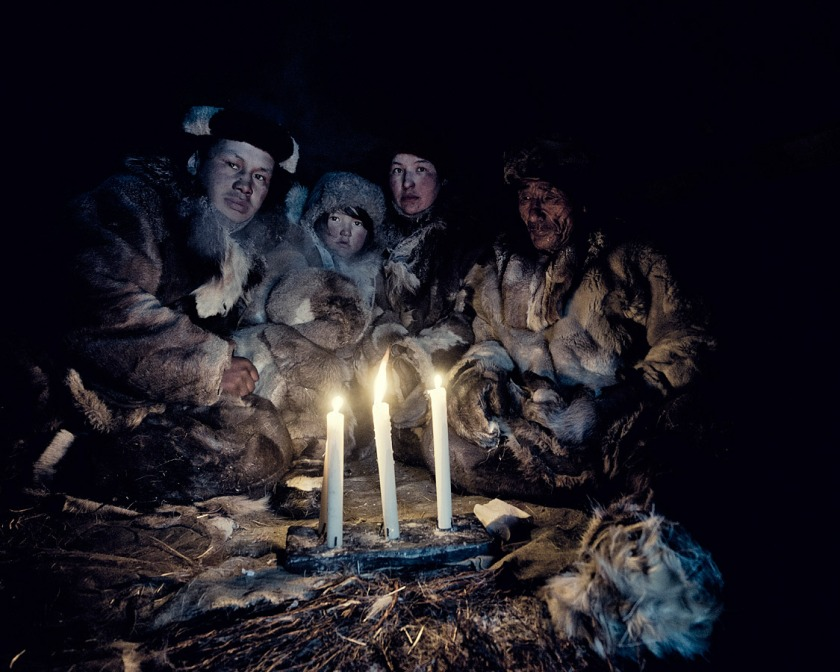 Marani parece haberse inspirado para crear su vostiaco en los pueblos nómadas que aún pueblan Siberia