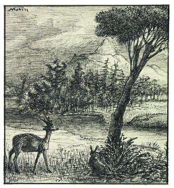 Bambi por Alfred Kubin